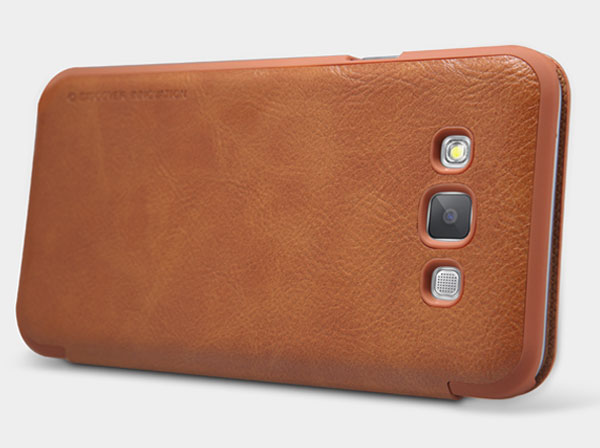 Samsung Galaxy E7 Qin leather case