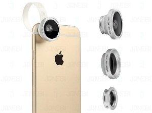 لنز فیش آی، واید و ماکرو Baseus Mini Lens Fisheye, Wide & Macro