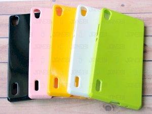 محافظ ژله ای رنگی Huawei Ascend P7