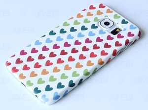 قاب محافظ Samsung Galaxy S6 Hearts 1