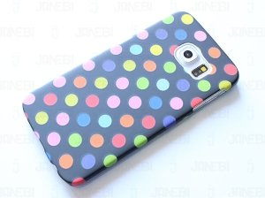 قاب محافظ  Samsung Galaxy S6 edge Cutie Dots