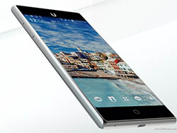 Ubik Uno گوشی هوشمندی قدرتمند با صفحه نمایشی بدون لبه