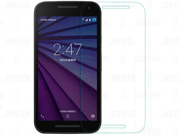 محافظ صفحه نمایش شیشه ای+Motorola MOTO G3 H