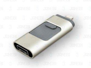 فلش مموری USB، آیفون و اندروید Multifunctional Flashdisk 32GB Class 10