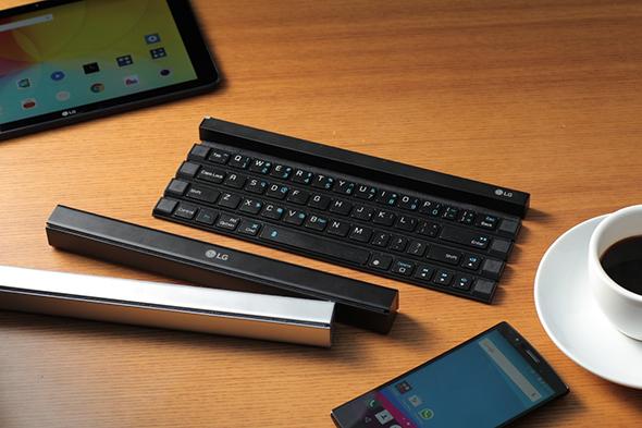 ال جی و تولید صفحه کلید قابل حمل بی سیم