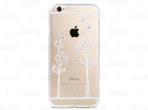 محافظ ژله ای گل رز Apple iphone 6 مارک Remax