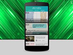 برنامه جدید Mirrative : اشتراک گذاری همه چیز گوشی های هوشمند