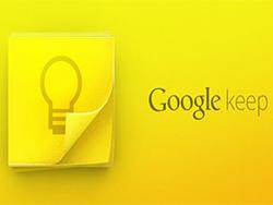 Google Keep، یک برنام قدرتمند نوت برداری