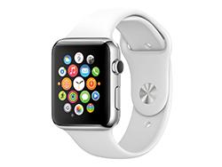 عرضه ساعت هوشمند اپل با بند از جنس چرم طبیعی دست ساز