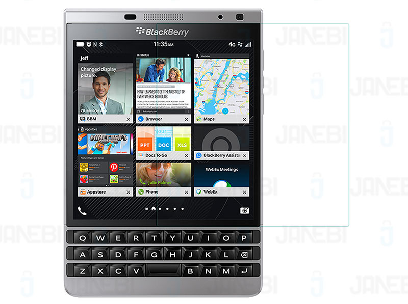 گلس BlackBerry Passport Silver