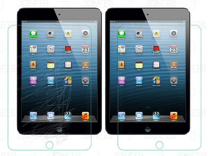 محافظ صفحه نمایش شیشه ای +Apple ipad mini 3 H