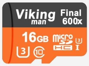 رم میکرو اسدی 16گیگا بایت Vikingman Class 10 600x U3