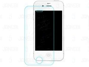محافظ صفحه نمایش شیشه ای مات Apple iphone 4 & 4S مارک RG