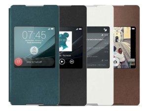 کیف اصلی سونی Sony Xperia Z3 Plus Style Cover Window SCR30