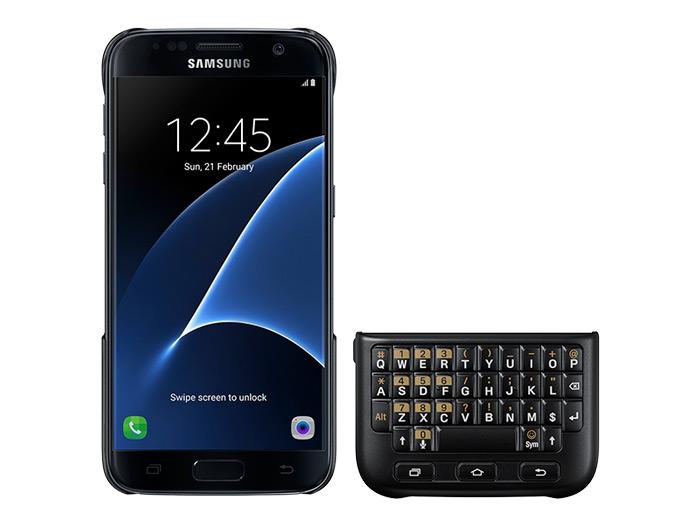 دانلود کیبورد سامسونگ s7 قاب کیبورد دار اصلی سامسونگ Samsung Galaxy S7 Keyboard Cover