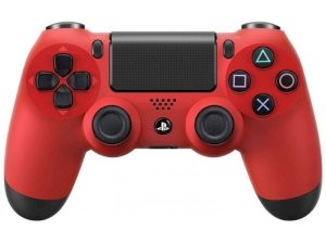 دسته بازی Sony DUALSHOCK 4 Wireless Red Controller PS4