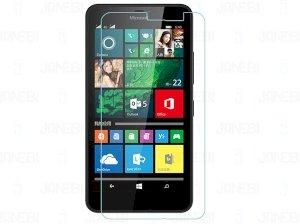 محافظ صفحه نمایش شیشه ای شفاف Microsoft Lumia 640 XL مارک RG