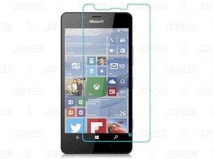 محافظ صفحه نمایش شیشه ای شفاف Microsoft Lumia 950 مارک RG