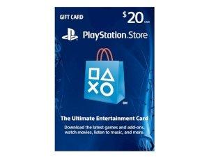 اکانت 20 دلاری سونی $PlayStation Store Gift Card 20