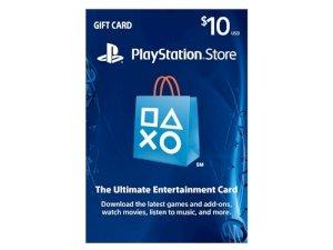 اکانت 10 دلاری سونی $PlayStation Store Gift Card 10