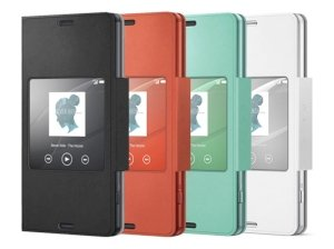 کیف اصلی Sony SCR26 Xperia Z3 Compact Style Cover Window