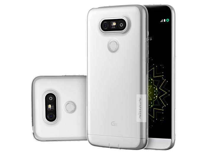 محافظ ژله ای گوشی اچ تی سی LG G5