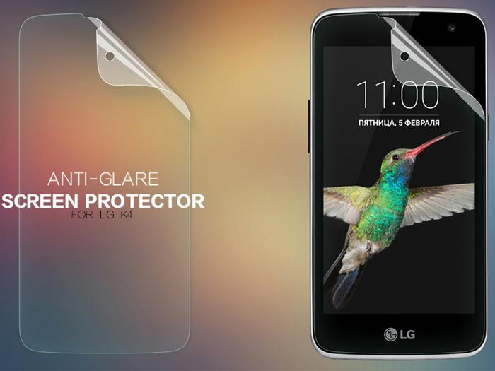 محافظ صفحه نمایش مات نیلکین LG K4
