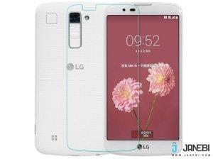 محافظ صفحه نمایش شیشه ای LG K10 مارک Nillkin H