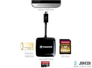 دستگاه کارت خوان Transcend RDP9 Smart OTG Card Reader