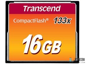 کارت حافظه Transcend 16GB Premium 133X Compact Flash Card