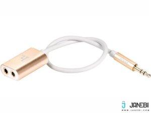 تبدیل یک به دو Hoco UA1 Audio Cable AUX