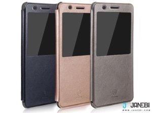 کیف چرمی بیسوس Baseus Leather S view Cover For Samsung Galaxy Note 7