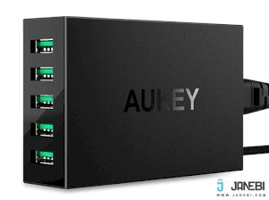 شارژر رومیزی 5 پورت آکی Aukey PA-U33 AiPower 5 Port Charging Station