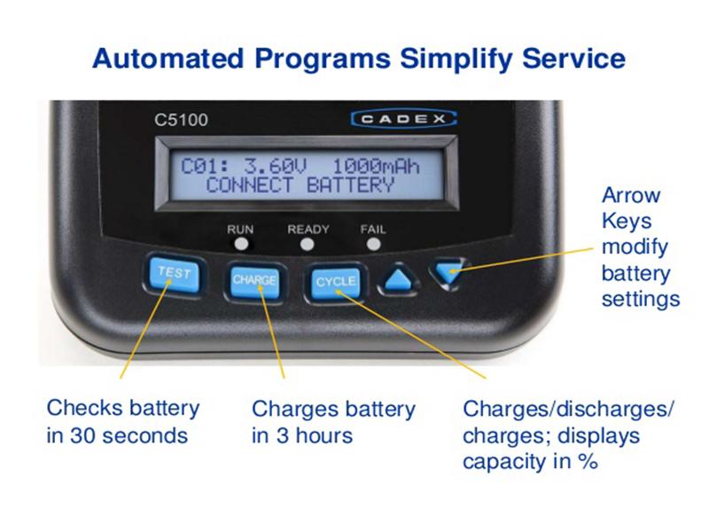 C5100-B دستگاهی که کیفیت باتری گوشی هوشمند شما را می سنجد