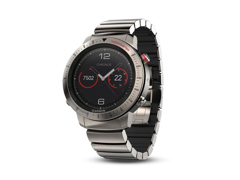 Fenix Chronos، یک ساعت هوشمند فوق حرفه ای و ساخته شده از فولاد، محصول گارمین