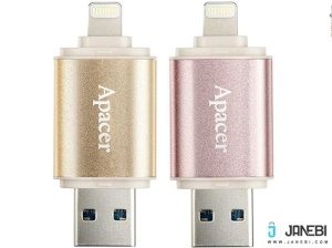فلش مموری اپیسر Apacer AH190 Lightning USB Flash Memory 64GB