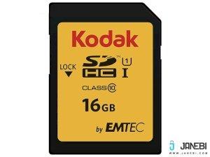 کارت حافظه کداک Emtec Kodak UHS-I U1 Class 10 85MBps 580X SDHC 16GB