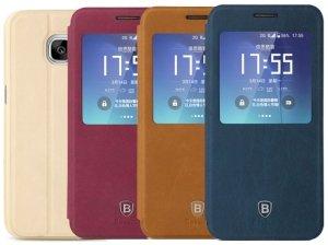 کیف چرمی بیسوس Baseus Terse Leather Case Samsung S7