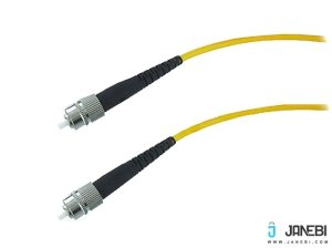 کابل فیبر نوری بافو BAFO Fiber Optic Cable Simplex Single-Mode (9/125um ) FC to FC 3.0mm