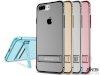 محافظ ژله ای نیلکین آیفون Nillkin Crashproof Ⅱ transparent holder iphone 7 Plus/8 Plus