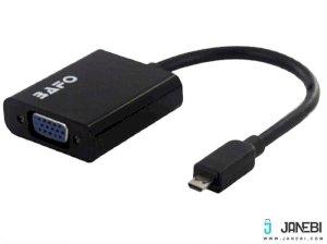 مبدل میکرو  اچ دی ام آی به وی جی ای بافو BAFO Micro HDMI to VGA W/Audio Adapter BF-2622