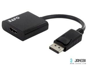 مبدل دیسپلی پورت به اچ دی ام آی بافو BAFO DispalyPort to HDMI Adapter(Active) BF-2651