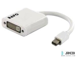 مبدل مینی دیسپلی پورت به دی وی آی بافو BAFO Mini DispalyPort to DVI Adapter(Active) BF-2652