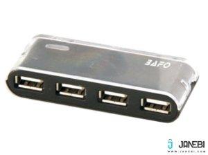 هاب یو اس بی 4 پورت بافو BAFO USB 2.0 HUB W/Power Adapter BF-H301