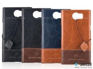 قاب محافظ چرمی ساده پیرکاردین بلک بری Pierre cardin Case BlackBerry Priv