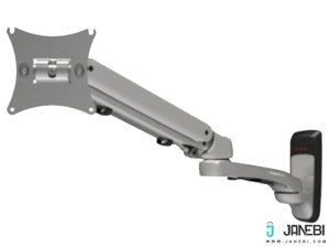 پایه دیواری متحرک گازی مانیتور LCD arm LW-615 Monitor Stand