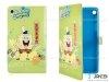 کیف تبلت هواوی طرح باب اسفنجی سبز Colourful Case Huawei Mediapad T1 7.0 SpongeBob
