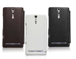 کیف چرمی نیلکین سونی Nillkin Leather Case Sony Xperia S