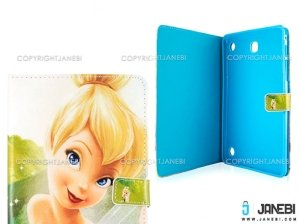 کیف تبلت سامسونگ طرح تینکربل Colourful Case Samsung Galaxy Tab A 8.0 Tinkerbell