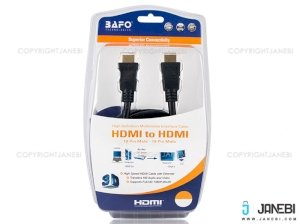 کابل اچ دی ام آی بافو BAFO HDMI Round Cable With Tinplate 1.5m